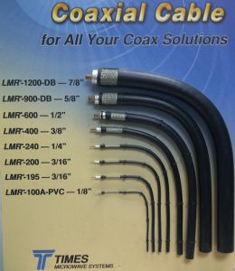 times micro cable types